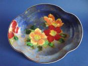 Superb Vintage Royal Doulton 'Wild Rose' Arnhem Tray D6227 c1942